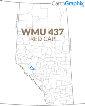 WMU 437 Red Cap Map