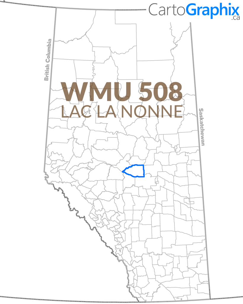 WMU 508 Lac La Nonne Map