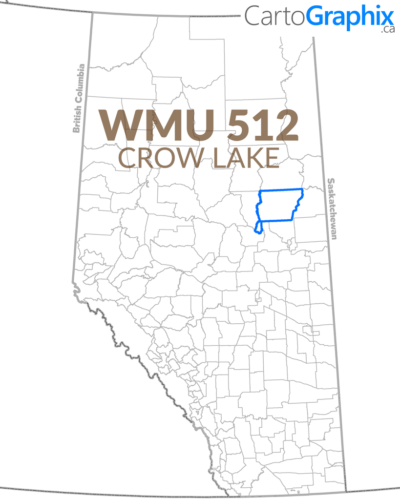 WMU 512 Crow Lake Map