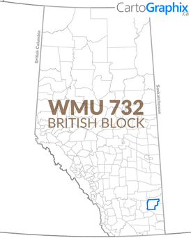WMU 732 British Block Map