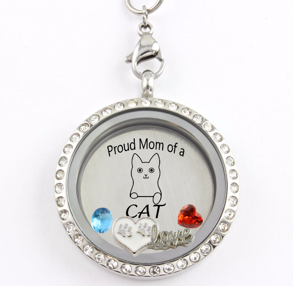 cremation lockets paw silver necklace cat pendant jewelry pet sterling