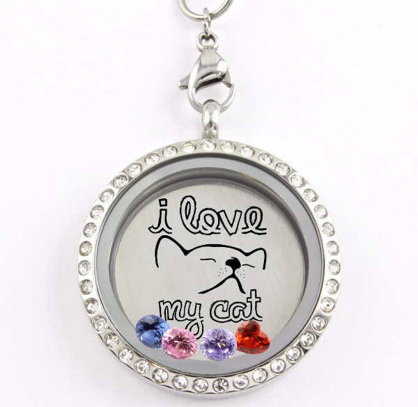 proud mom cat lockets a howdy collections chic of locket