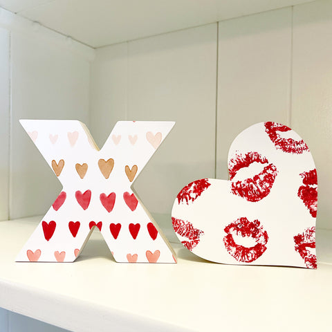 Home Line - XO - Mutli Heart + Lips