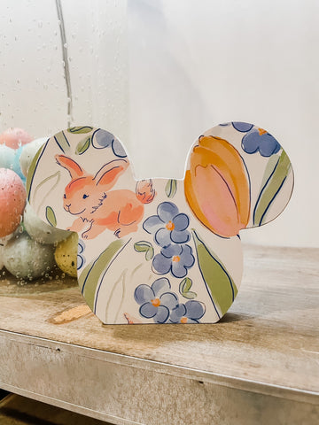 Home Line - Mickey - Bunny Floral