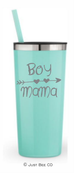 Boy Mama Heart Arrow