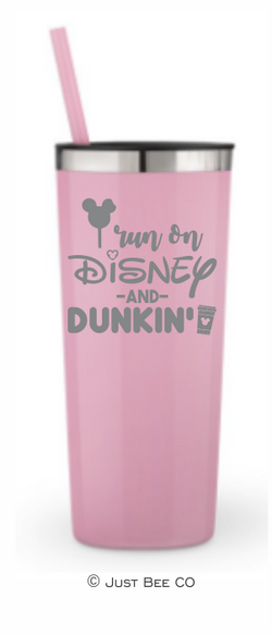 I Run On Disney and Dunkin'