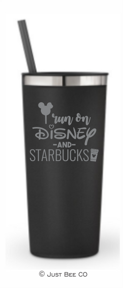 I Run On Disney and Starbucks