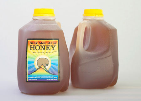 3lb Jug of Raw Unfiltered Oregon Wildflower Honey