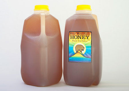 5lb Jug of Raw Unfiltered Oregon Wildflower Honey