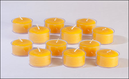 Natural Beeswax Tealights