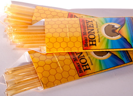Package of 10 Honey Sticks