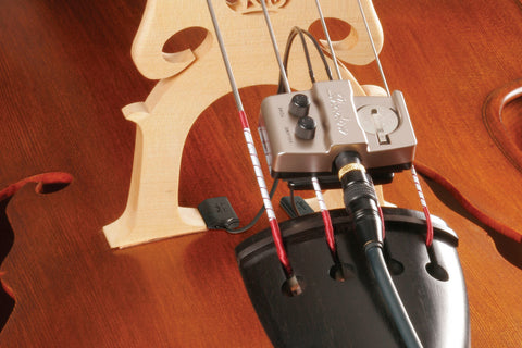 SH 965 Upright Bass Dual Pickup & Preamp