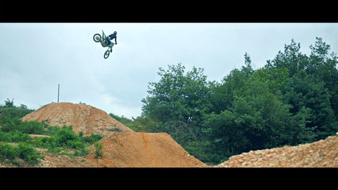 Freestyle Motocross in Royal Hills with Gilles Dejong