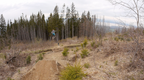 Nico Vink & Nick Pescetto Sending it on the Scott Gambler Prototype // Lost Footage #2 // 2014