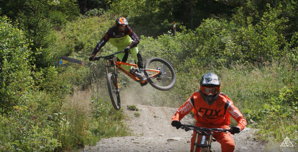 Brendan Fairclough and Josh Bryceland Slaying Schladming // Deathgrip Movie