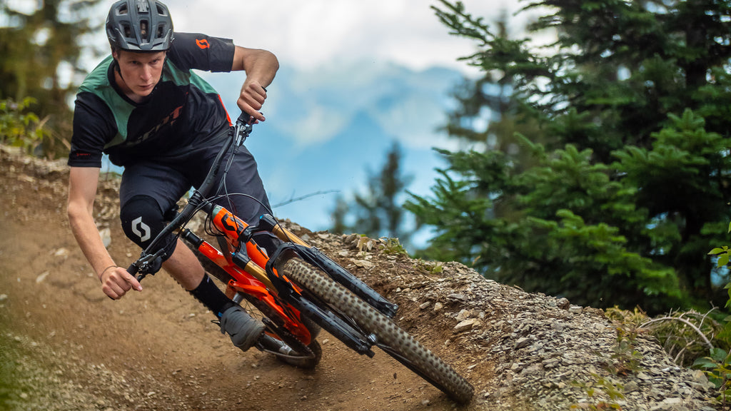POV with Scotty Laughland at Champéry Morgins Bikepark