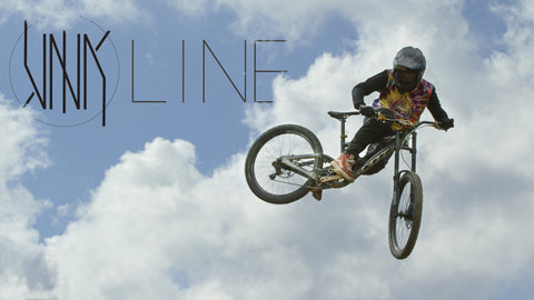Racking up the air miles on Nico Vink's Newest Creation - Vink Line in Châtel Bikepark