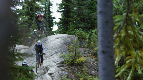 4 of the Best DH Athletes in the World in Whistler? What Happens?