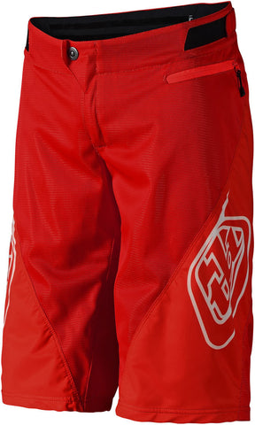 Troy Lee Designs Sprint Shorts Solid Red
