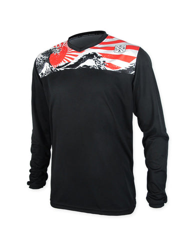Loose Riders Rising Sun Jersey