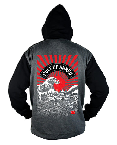 Loose Riders Rising Sun Hoody