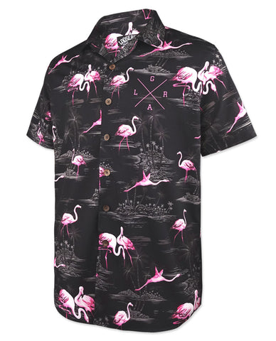 Loose Riders Bermuda Black Shirt