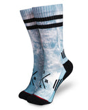 Loose Riders Kosmic Teal Socks