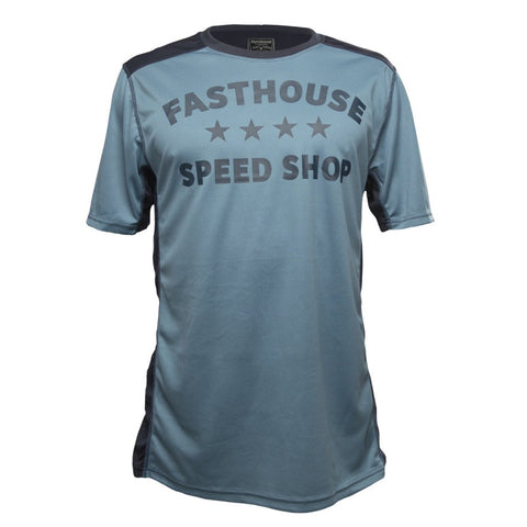 FASTHOUSE BIKE JERSEY FASTLINE STARS SHORT SLEEVES BLUE