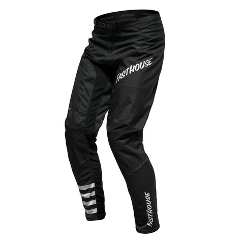 The Fasthouse black pants for mountain biking. Perfect for downhill and freeride.