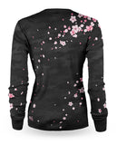Loose Riders 2019 Sakura Black Women Longsleeves Jersey
