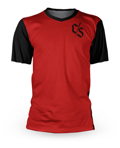 Loose Riders C/S Red Shortsleeves Jersey