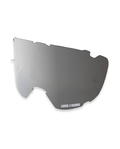 Loose Riders Goggles Lenses Silver Mirror