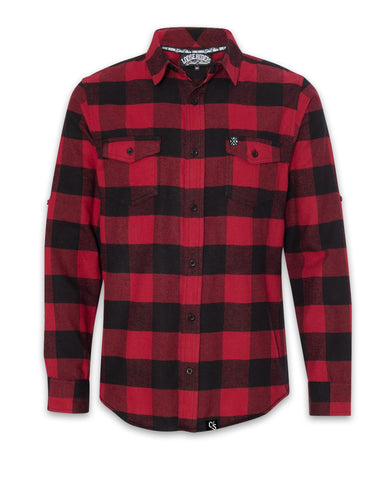 Loose Riders Red Flannel Shirt