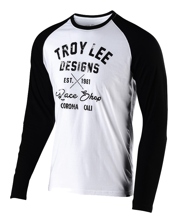 customers first available suitable for men/women Troy Lee Designs Vintage Race Shop Long Sleeves Tee shirt