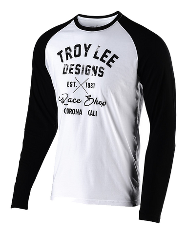 Troy Lee Designs Vintage Race Shop Long Sleeves Tee shirt