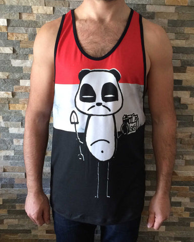 Shaperideshoot Panda Tri Tank Top