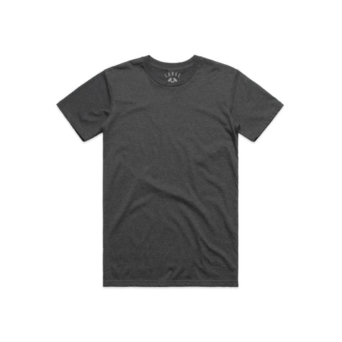 The Everyday Tee (Asphalt Heather)