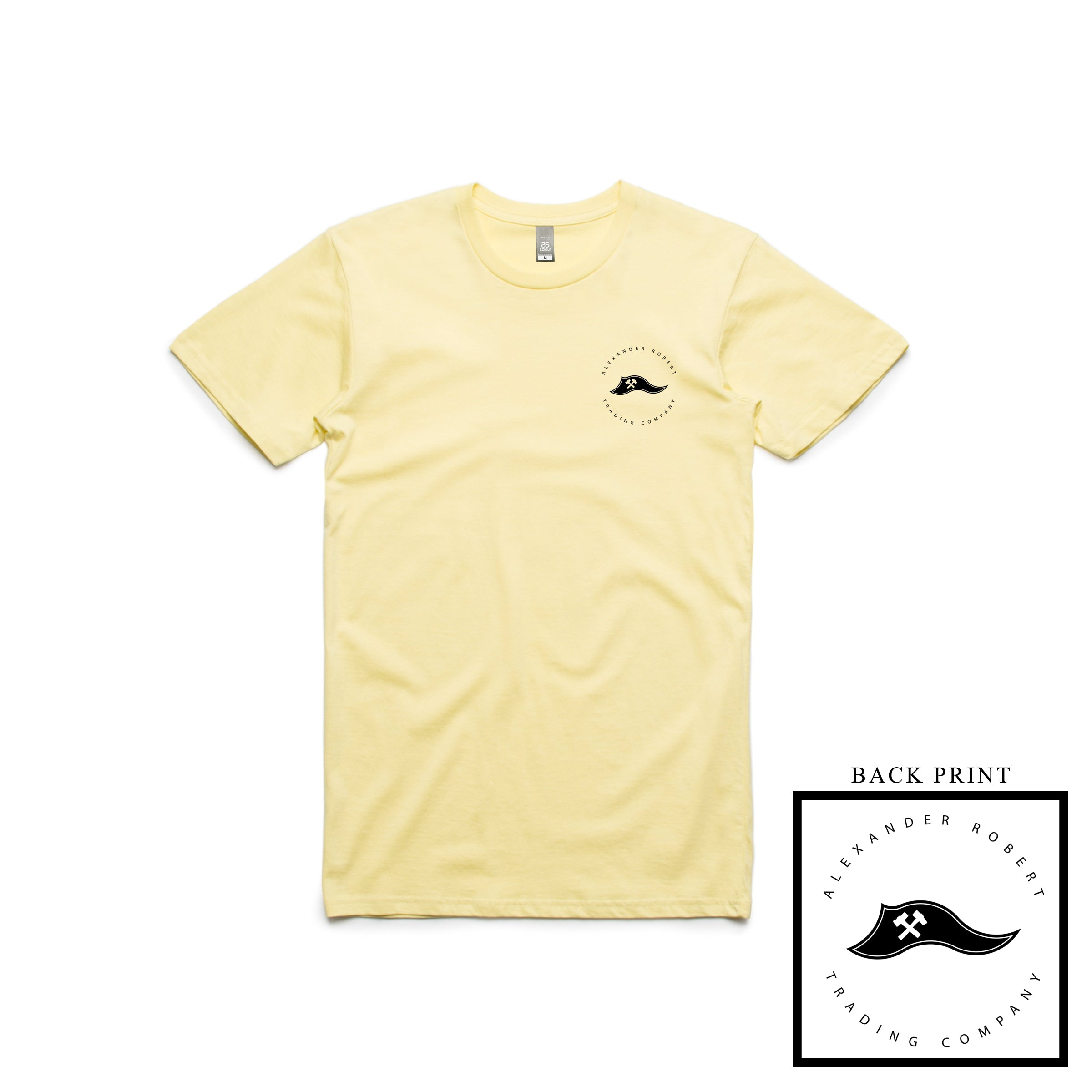 The ARTC Pennant Tee (Lemon)