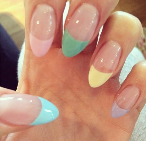 French pastel tips