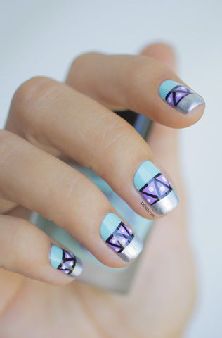 Tribal french tips