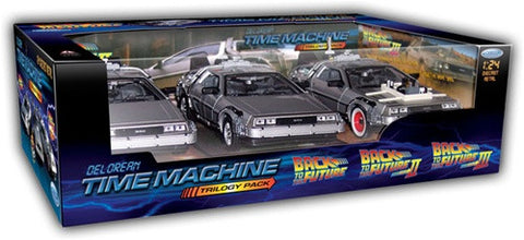 Back to the Future DeLorean Trilogy Pack