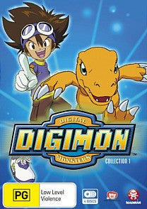 Digimon: Digital Monsters (1999) Collection/Season 1 (Eps 1-27)