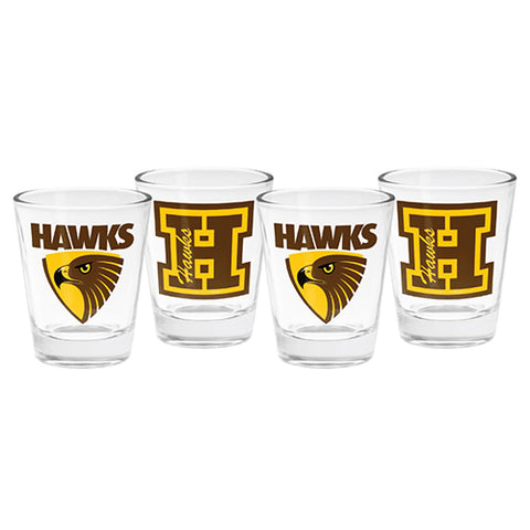 Hawthorn 4 Pack Shot Glasses