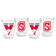 Sydney 4 Pack Shot Glasses