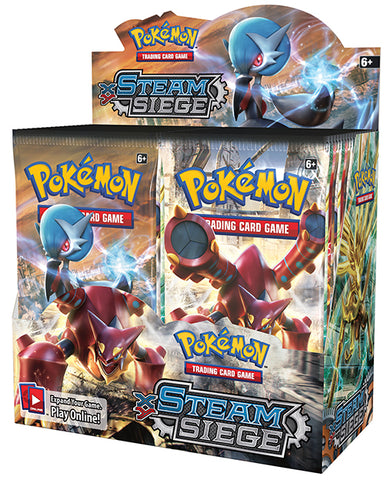 POKÉMON TCG XY Steam Siege Booster Box