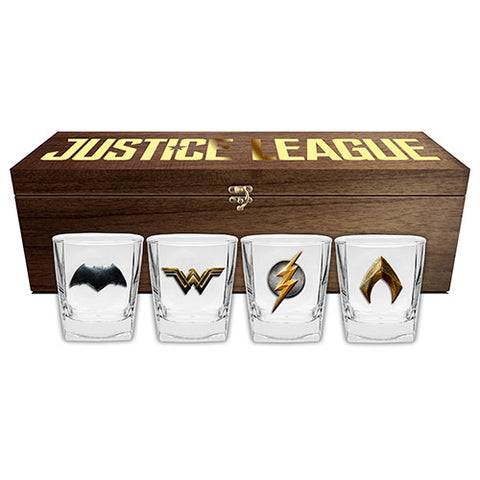 Justice League Spirit Glasses Collector Box