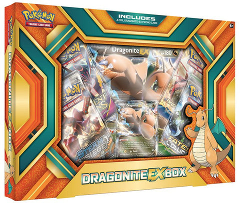 Pokemon TCG Dragonite - EX Box