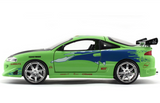 1:24 1995 BRIAN'S MITSUBISHI ECLIPSE - FAST AND FURIOUS DIECAST