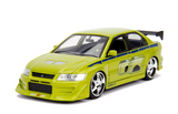 1:24 Brian's Mitsubishi Lancer Evolution Vii - Fast And Furious Diecast