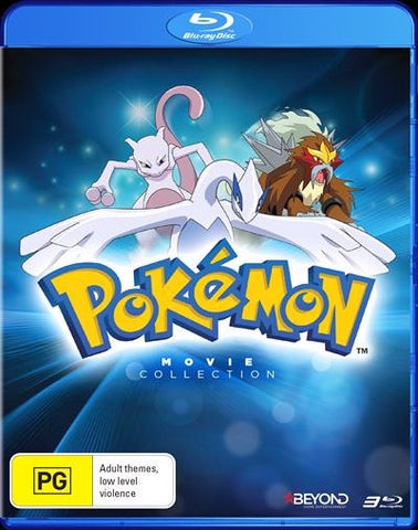 Pokemon: Movies 1-3 Collection Bluray